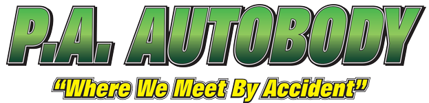 P. A.  Autobody  Logo