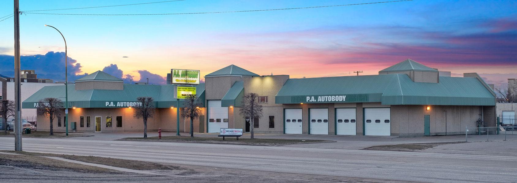 P. A. Autobody Shop