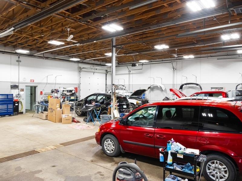 Collision Repair Workshop